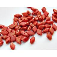 Cherry cseh diamonduo üveggyöngy 5x8 mm