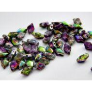 Fairy cseh diamonduo üveggyöngy 5x8 mm