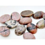 Rodonit ásvány kaboson 18x25 mm