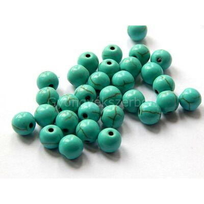 Szintetikus türkiz ásványgyöngy 8 mm