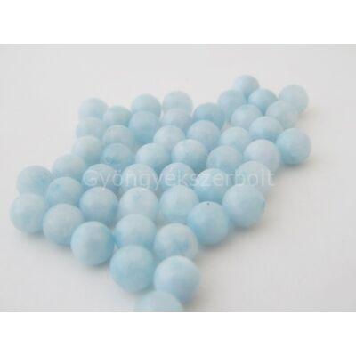 Akvamarin ásványgyöngy 8 mm