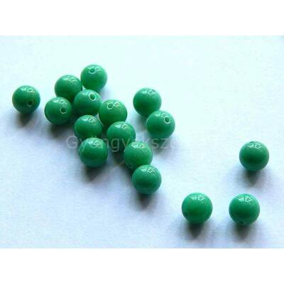 Zöld jade ásványgyöngy 8 mm