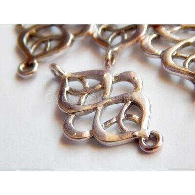 Antik ezüst mőbiusz összekötő