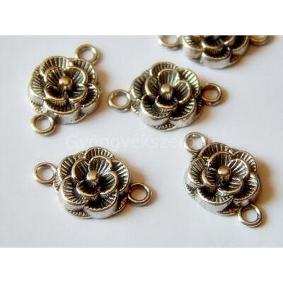 Antik ezüst rózsa összekötő