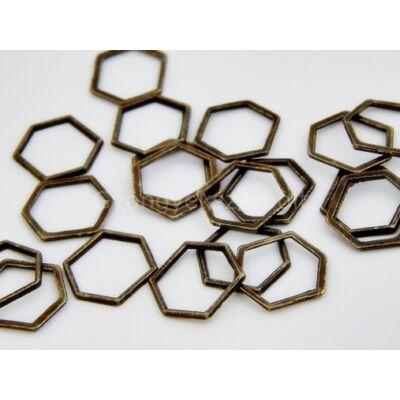 Bronz hexagon összekötő