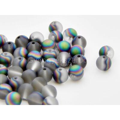 Dallas electroplated üveggyöngy 8 mm