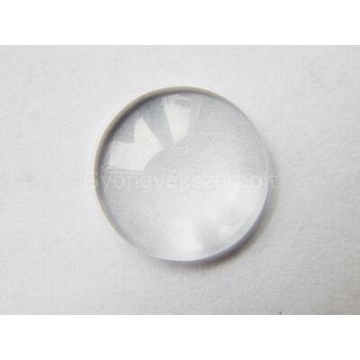 Kerek üveglencse 18 mm