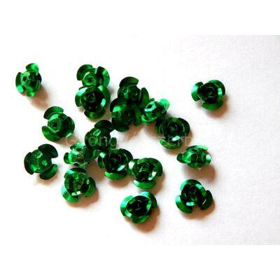 Zöld alurózsa 10 mm
