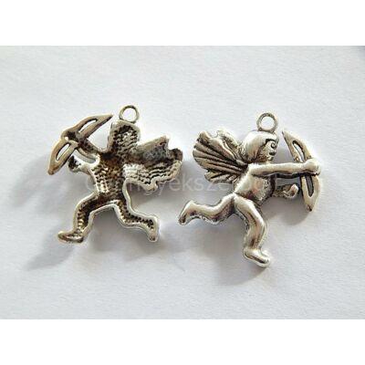Antik ezüst ÁMOR charm