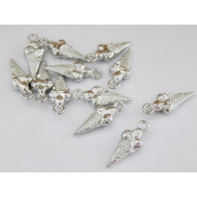 Antik ezüst FAGYI charm