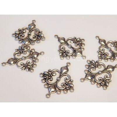 Antik ezüst chandelier fülbevaló alap