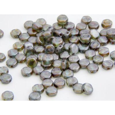 Forest cseh HEXAGON üvegyöngy 6,5x6,5 mm