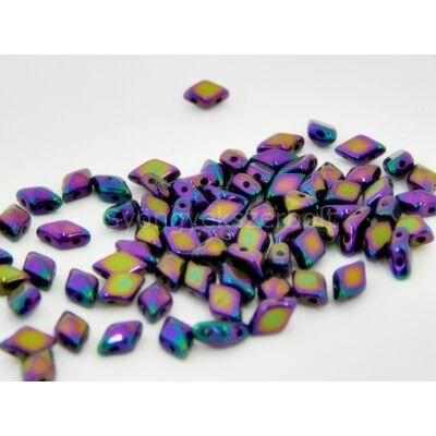 Purple dream diamonduo üveggyöngy 5x8 mm