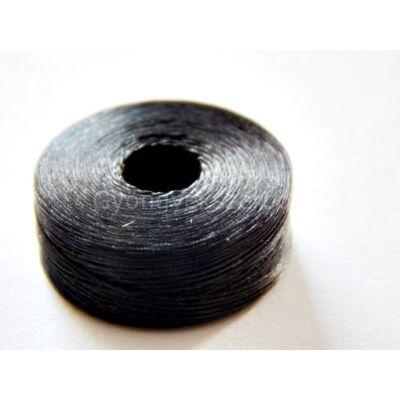 Fekete gyöngyfűző cérna 60