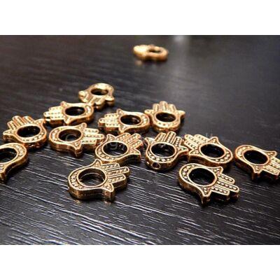 Antik arany hamsa kéz gyöngykeret 4-es