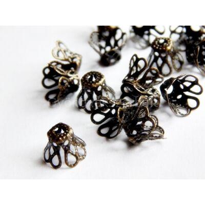 20 db bronz harang alakú gyöngykupak