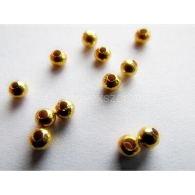 20 db arany köztes gyöngy 3 mm