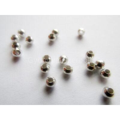 20 db ezüst köztes gyöngy 3 mm