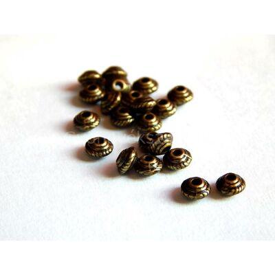 Bronz mini ufo köztes 5x3 mm