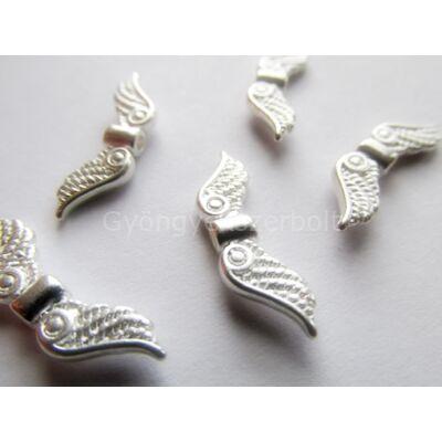 Ezüst angyal szárny köztes 23x7