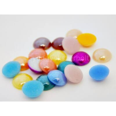 Színkavalkád üveg fél tekla csomag 8 mm