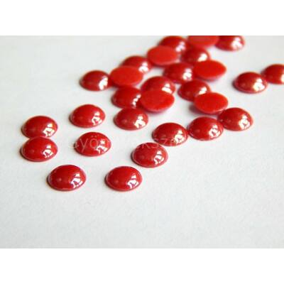 Vörös üveg fél tekla 10 mm