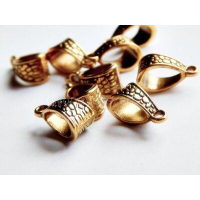 Antik arany pikkelyes medáltartó