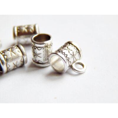 Antik ezüst szitakötő medáltartó