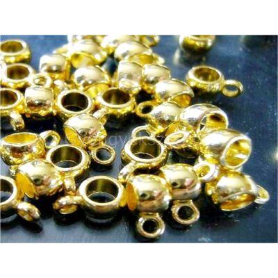 Arany mini hordó medáltartó