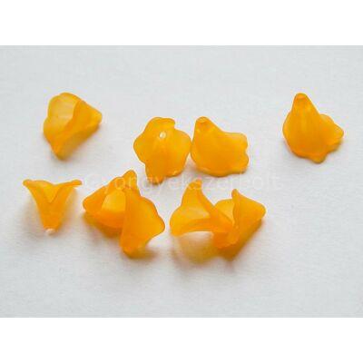 20 db narancs kála akril gyöngy 10 mm