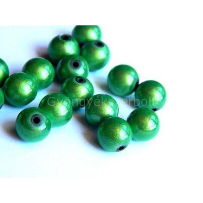 Fűzöld miracle műanyag gyöngy 10 mm