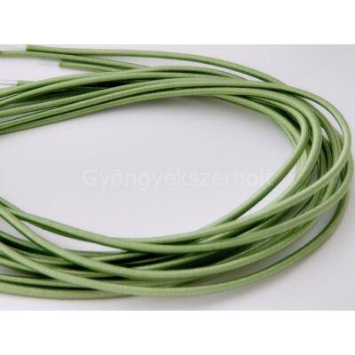 Világos zöld rugalmas nyaklánc vagy karkötő alap