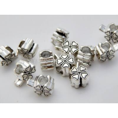 Antik ezüst szerencse PARACORD gyöngy