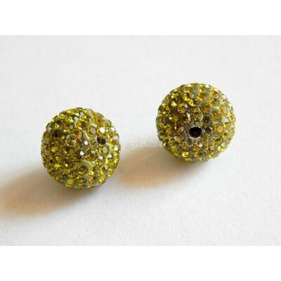Olíva átfúrt SHAMBALLA 12 mm