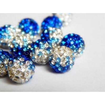 Sapphire-clear átfúrt SHAMBALLA 10 mm