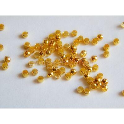 100 db arany stopper 2 mm