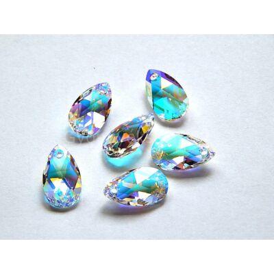 SWAROVSKI pear crystal AB 16 mm