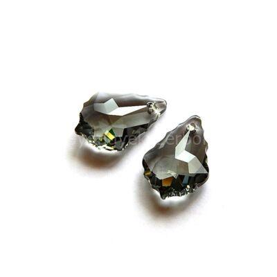 SWAROVSKI baroque black diamond 22x15 mm