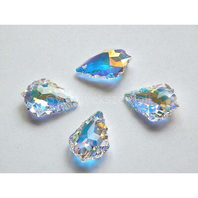 SWAROVSKI baroque crystal AB 22x15 mm