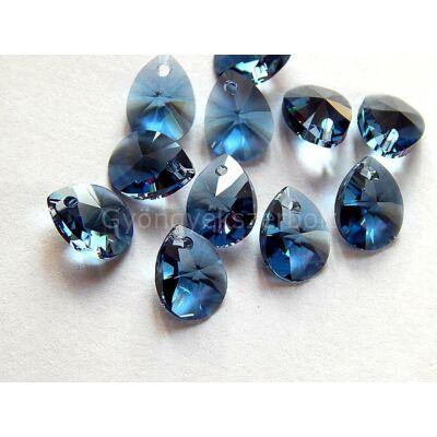 SWAROVSKI xilion mini pear denim blue 10x7.5mm