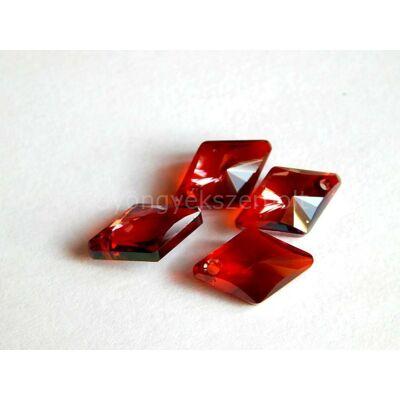 SWAROVSKI rhombus crystal red magmaa 14mm