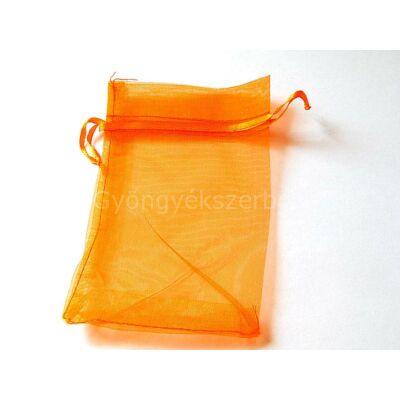 Narancs organza tasak 10x15 cm