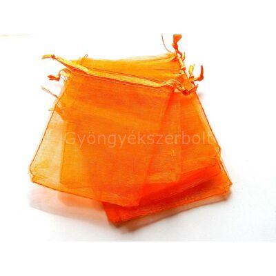 Narancs organza tasak 7x8 cm
