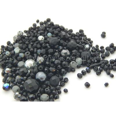 Black CSEH forma üveggyöngy mix