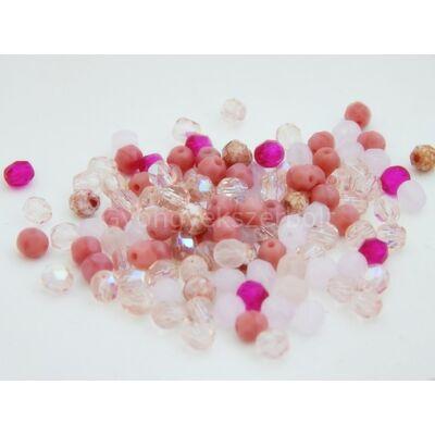 Női energiák CSEH gömb üveggyöngy mix 4mm