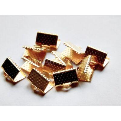 Arany szalag végzáró 10 mm