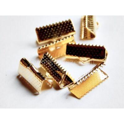 Arany szalag végzáró 16 mm