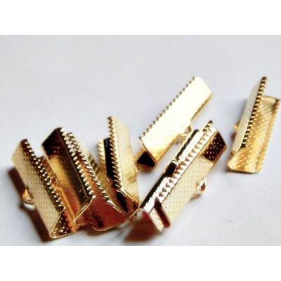 Arany szalag végzáró 25 mm