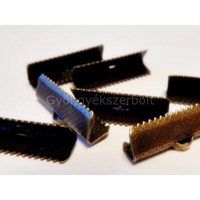 Bronz szalag végzáró 25 mm