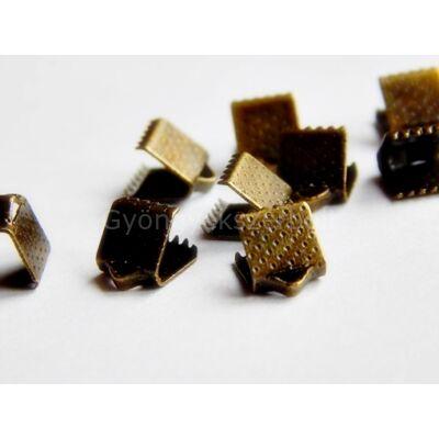 Bronz szalag végzáró 8 mm